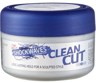 Wella Shockwaves Clean Cut Styling Wax 75ml