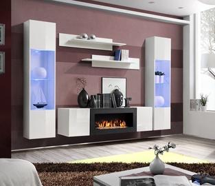 ASM Fly M3 Living Room Wall Unit Set White