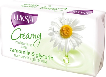 Luksja Creamy Camomile & Glycerin Moisturising Soap 90g