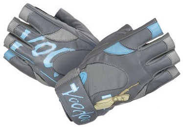 Mad Max Voodoo Gloves Grey Blue S