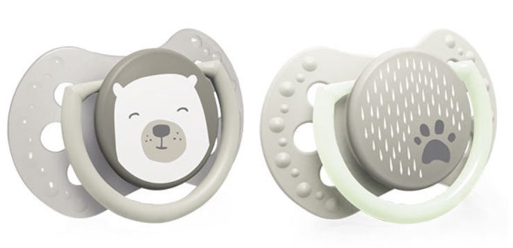Lovi Dynamic Soother Silicone 2pcs Buddy Bear 22/865 6-18m