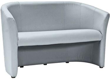 Dīvāns Signal Meble TM-2 Velvet Gray, 126 x 60 x 76 cm