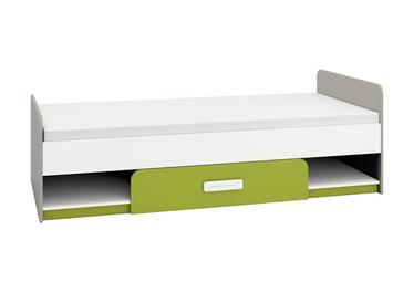 Детская кровать ML Meble IQ 12 Green, 203x94 см