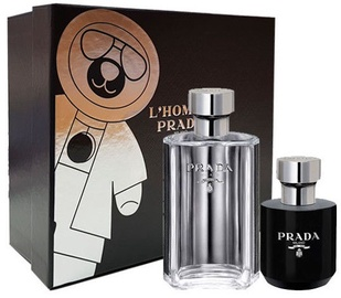 Prada L'Homme Prada 50ml EDT + 100ml Shower Gel New Design