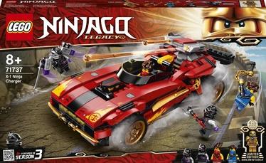 Konstruktors LEGO Ninjago X–1 nindzjas lādētājs 71737, 599 gab.