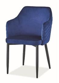 Стул для столовой Signal Meble Astor Velvet Blue, 1 шт.