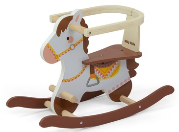 Milly Mally Lucky 12 Rocking Horse Brown
