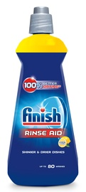 Trauku mazgājamās mašīnas šķidrums Finish Shine & Protect Lemon, 400 ml