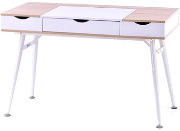 Homede Faryn Desk Oak/White