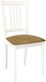 Ēdamistabas krēsls Signal Meble CD-63 White/Beige