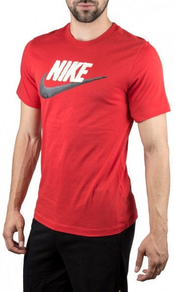 Nike Mens Brand Mark T-Shirt AR4993 657 Red L