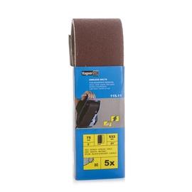 Slīpēšanas lente Vagner SDH 115.11, G80, 533x75 mm, 5 gab.