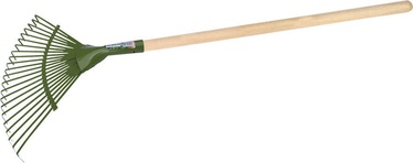 Sotka Elite Star Leaf Rake with Wooden Handle