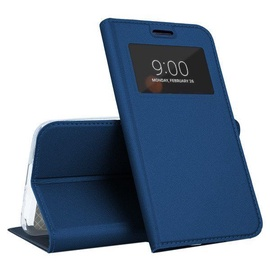 Mocco Smart Look Magnet Book Case For Samsung Galaxy S10 Plus Blue