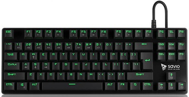 Savio Tempest Mechanical Gaming Keyboard Outemu Red