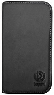 Bugatti Oslo Book Cover For Samsung Galaxy S5 Black