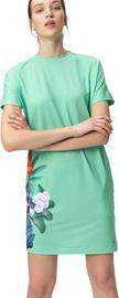 Audimas Short Stretch Printed Dress Mint Garden M