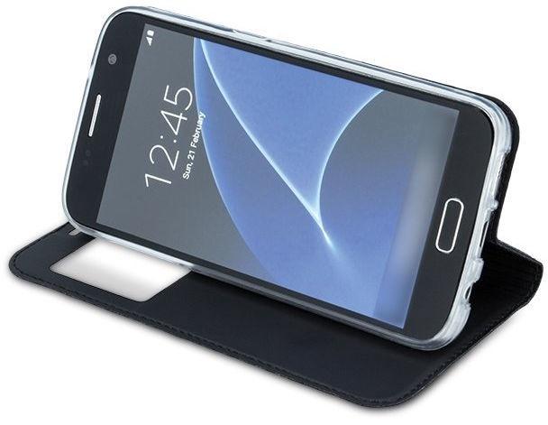 Mocco Smart Look Magnet Book Case For Samsung Galaxy J4 Plus J415 Black