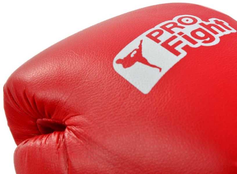 ProFight Skin Dragon Boxing Gloves Red 10oz