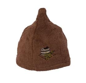 Pirts cepure Namu Tekstile, brūna