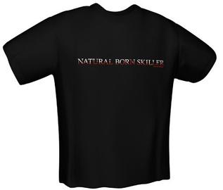 GamersWear Natural Skiller T-Shirt Black S