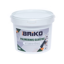 Шпаклевка Briko Polimerinis Glaistas Plaster w/ Chalk 5kg