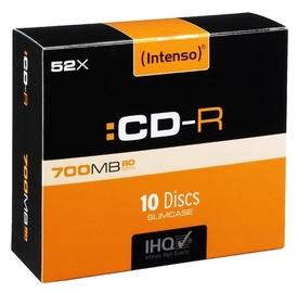 Intenso CD-R 52X 700MB 10P Slim case