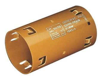 Drenāžas divpusējā savienotājuzmava Wavin D65mm, PVC