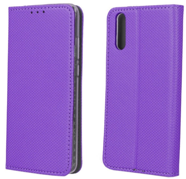 TakeMe Smart Magnetic Fix Book Case For Samsung Galaxy A80 Violet