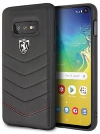 Ferrari FEHQUHCS10LBK Back Case For Samsung Galaxy S10e Black