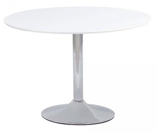 Обеденный стол Signal Meble Modern Flavio, белый, 900x900x750мм