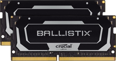 Оперативная память (RAM) Crucial Ballistix Black BL2K8G32C16S4B DDR4 (SO-DIMM) 16 GB CL16 3200 MHz
