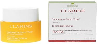 Ķermeņa skrubis Clarins Tonic Sugar, 250 g