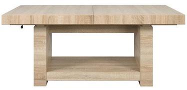 Kafijas galdiņš Black Red White Heze Max Oak, 1400 - 2200x800x625 - 805 mm