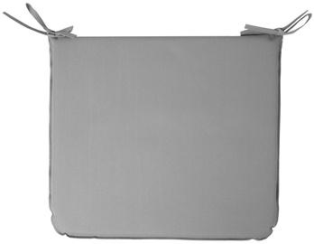 Krēslu spilveni Home4you Ohio Chair Cover 43x38cm Grey