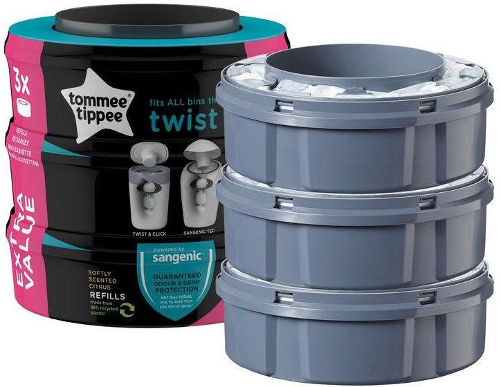 Tommee Tippee Sangenic Twist Refill Cassette 3pcs 85102201