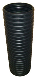Magnaplast Grooved Drain Pipe Black 300mm 1m