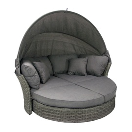Dīvāns Home4you Muse-2 With Canopy Grey