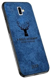 Mocco Deer Back Case For Samsung Galaxy J6 Plus J610 Blue