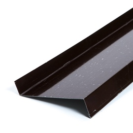 Palodze Metal Windowsills 100x2000mm Dark Brown