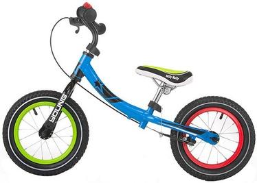 Балансирующий велосипед Milly Mally Young Multicolor 2749