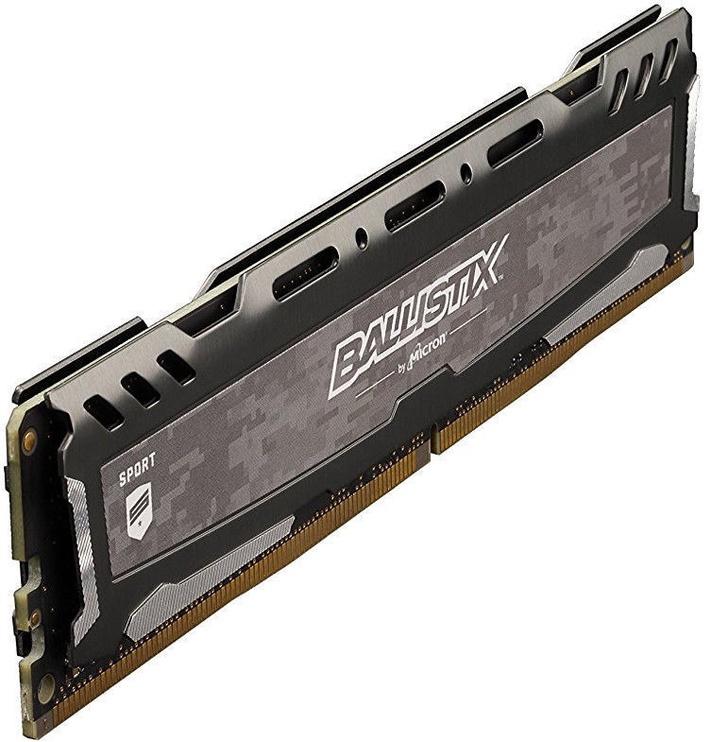 Operatīvā atmiņa (RAM) Crucial Ballistix Sport LT Gray BLS8G4D30BESBK DDR4 8 GB