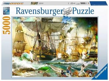 Puzle Ravensburger Battle on the High Seas 13969, 5000 gab.