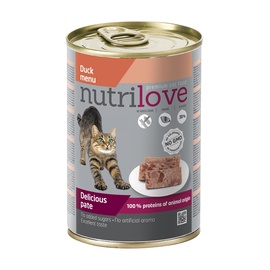 Kaķu konservi Nutrilove Delicious Pate, 400 g