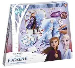 Dekorēšanas komplekts Totum Frozen II Enchanted Diamonds 680722