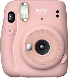 Моментальный фотоаппарат Fujifilm Instax Mini 11 Blush Pink + Instax Mini Glossy 20pcs