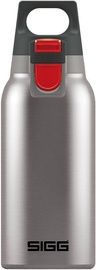 Sigg Thermo Flask Hot & Cold One Brushed Steel 300ml