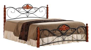 Кровать Halmar Valentina Antique Cherry, 160 x 200 cm