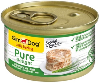 Gimborn Gimdog Food Little Darling Pure Delight w/ Chicken & Lamb In Jelly 85g
