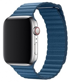 Devia Elegant Leather Loop For Apple Watch 44mm Blue